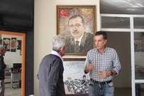 DEKORASYON - Savaştan Kaçtı, Mersin'de Kurduğu Mozaik Atölyesiyle Dünyaya Açıldı