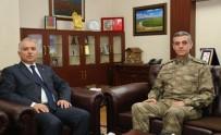 İSMAIL ŞAHIN - Tuğgeneral Yalçın'dan Vali Yıldırım'a Ziyaret