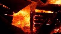 EVDE TEK BAŞINA - Yangın Can Aldı