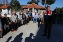 TURGUTALP - Yeniden Hizmete Giren Karakol Vatandaşları Ağırladı