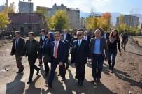 MEHMET DEMIR - Bursa İl Dernekler Federasyonundan Güroymak'a Ziyaret