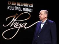 FATİH BELEDİYESİ - Cumhurbaşkanı Erdoğan Açıklaması 'Şu Dikey Yapılaşmaya İllerimizde, İlçelerimizde İzin Vermeyelim'
