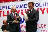 ADALET VE KALKıNMA PARTISI - Ekonomi Bakanı Zeybekci Erzincan'da