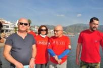 İÇMELER - Gönüllüler Körfezdeki Kirliliğe Dikkat Çektiekti