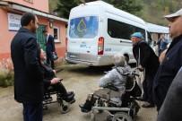 OMURİLİK FELÇLİLERİ - Görele Kaymakamı Ermiş'ten Engelli Ve Yaşlılara Ziyaret
