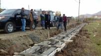 GIRNE - Güroymak'ta Su Kanalları Döşeme Çalışması