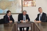 KILIMLI - Kozlu Beldiyesi Ve Akmercan Doğalgaz Firması Arasında Protokol İmzalandı
