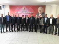 MEHMET ERDOĞAN - MHP'den AK Parti'ye Ziyaret