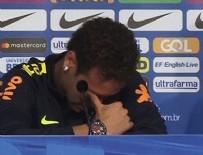 YILDIZ FUTBOLCU - Neymar basın toplantısında ağladı