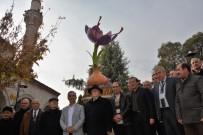 ALI ÖZCAN - Safranbolu'da Safran Bitkisi Heykeli Açıldı
