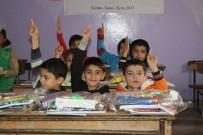 İDLIB - Savaş Mağduru Öğrencilere Kırtasiye Ve Kışlık Yardım