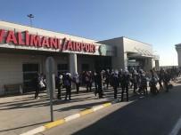 UMUTLU - Silopi'de Öğrenciler 'Biz Anadoluyuz' Projesi İle Antalya'ya Uğurlandı