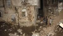 HAVA SALDIRISI - Suudi Uçakları, Sana'da Savunma Bakanlığını Bombaladı