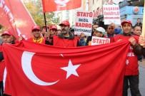 DEVRIMCI - Taşeron İşçiler Taleplerini Duyurmak İçin Toplandı