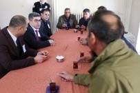 KORSAN TAKSİCİLER - Varto Belediyesi Başkan Vekili Çetin, Ticari Taksicilerin Sorunlarını Dinledi