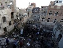 HAVA SALDIRISI - Suudi Arabistan jetleri Yemen'i vurdu
