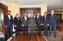 MUSTAFA TUNA - Ankara Büyükşehir Belediye Başkanı Tuna'ya Tebrik Ziyaretleri Sürüyor