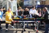 AŞIRI HIZ - Diyarbakır'da Trafik Kazası Açıklaması 1 Yaralı