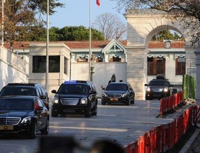 İstanbul'da sürpriz görüşme