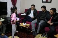 HÜRRİYET MAHALLESİ - Kaymakam Çetin'den Hasta Ziyareti