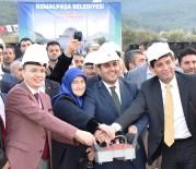 KURBAN KESİMİ - Kemalpaşa'nın En Büyük Camisinin Temeli Atıldı