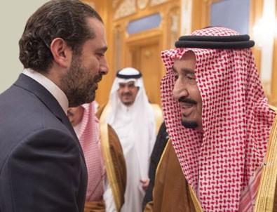 Kral Selman'ı istifa eden Hariri karşıladı