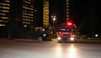 İTFAİYE ARACI - Oteldeki Yangın Korkuttu