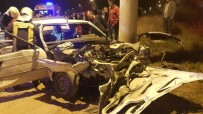 SERVERGAZI - Otomobiller Çapıştı Açıklaması 1 Ölü, 10 Yaralı