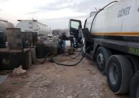 KAÇAK AKARYAKIT - Şanlıurfa'da 6 Ton Kaçak Akaryakıt Ele Geçirildi