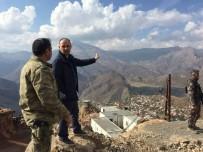 MURAT ŞENER - Şener'den Güvenlik Güçlerine Moral Ziyareti