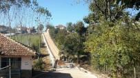 AKMEŞE - Süleymaniye Köyü Sokaklarına Parke Döşendi