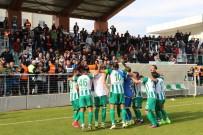 BERGAMA BELEDİYESPOR - TFF 3. Lig 1. Grup Açıklaması Manisa BBSK Açıklaması 3- Bergama Belediyespor Açıklaması 0