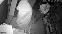 DÖVME - Üzerlerine Örttükleri Çarşaflar Hırsızları Kurtaramadı
