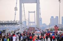 GALATA KÖPRÜSÜ - Vodafone İstanbul Maratonu Başladı