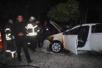 GIRNE - Cezaevi Firarisi Kendisini Yakalamak İsteyen İnfaz Büro Amiri'nin Aracını Ateşe Verdi