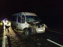 YOLCU TAŞIMACILIĞI - Daday'da Meydana Gelen Trafik Kazasında 2 Kişi Yaralı