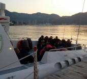 SÜRAT TEKNESİ - Ege'de 45 Kaçak Göçmen Yakalandı