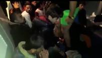 SÜRAT TEKNESİ - Ege Denizi'nde 45 Kaçak Göçmen Yakalandı