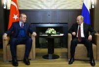 MEVLÜT ÇAVUŞOĞLU - Erdoğan-Putin görüşmesi sona erdi