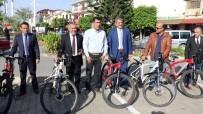 MAKAM ARACI - Gazipaşa'da Belediye Birim Amirlerine Makam Aracı Olarak Bisiklet Dağıtıldı