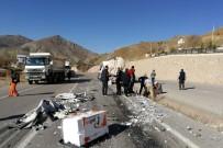 Gümüşhane-Bayburt Karayolunda TIR'lar Çaprıştı Açıklaması 1 Yaralı