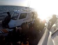 SÜRAT TEKNESİ - Hafta Sonu 99 Kaçak Göçmen Yakalandı