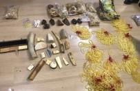GÜVEN TİMLERİ - İstanbul'da Yurda Kaçak Yollarla Sokulan Mors Dişleri Ele Geçirildi