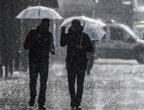 EGE BÖLGESI - Meteoroloji'den sağanak yağış uyarısı!