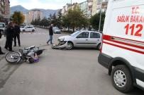 Seydişehir'de Trafik Kazası Açıklaması 2 Yaralı