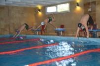 YÜZME YARIŞMASI - Söke'de İlk Kez Yüzme Şampiyonası Yapıldı
