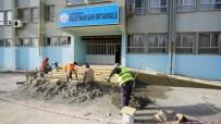 SÜLEYMAN ŞAH - Adıyaman Belediyesinde Okula Engelli Rampası