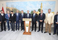 GÖBEKLİTEPE - AK Parti Genel Başkan Yardımcısı Eker'den Büyükşehir Belediyesine Ziyaret