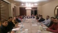 MÜZAKERE - AK Parti İl Başkanı Dündar, Genç STK Temsilcileriyle Bir Araya Geldi
