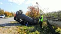 VEYSEL ACAR - Araç Takla Attı Açıklaması 1 Yaralı
